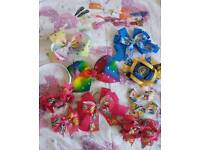 Girls large clips and bobble bundle