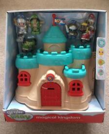 Grow & Play magical kingdom lets play knights