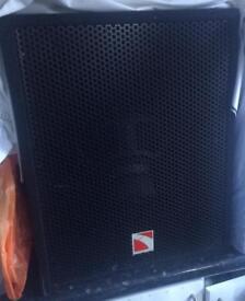 X1 Amp x2 Passive Bass Bins 400w