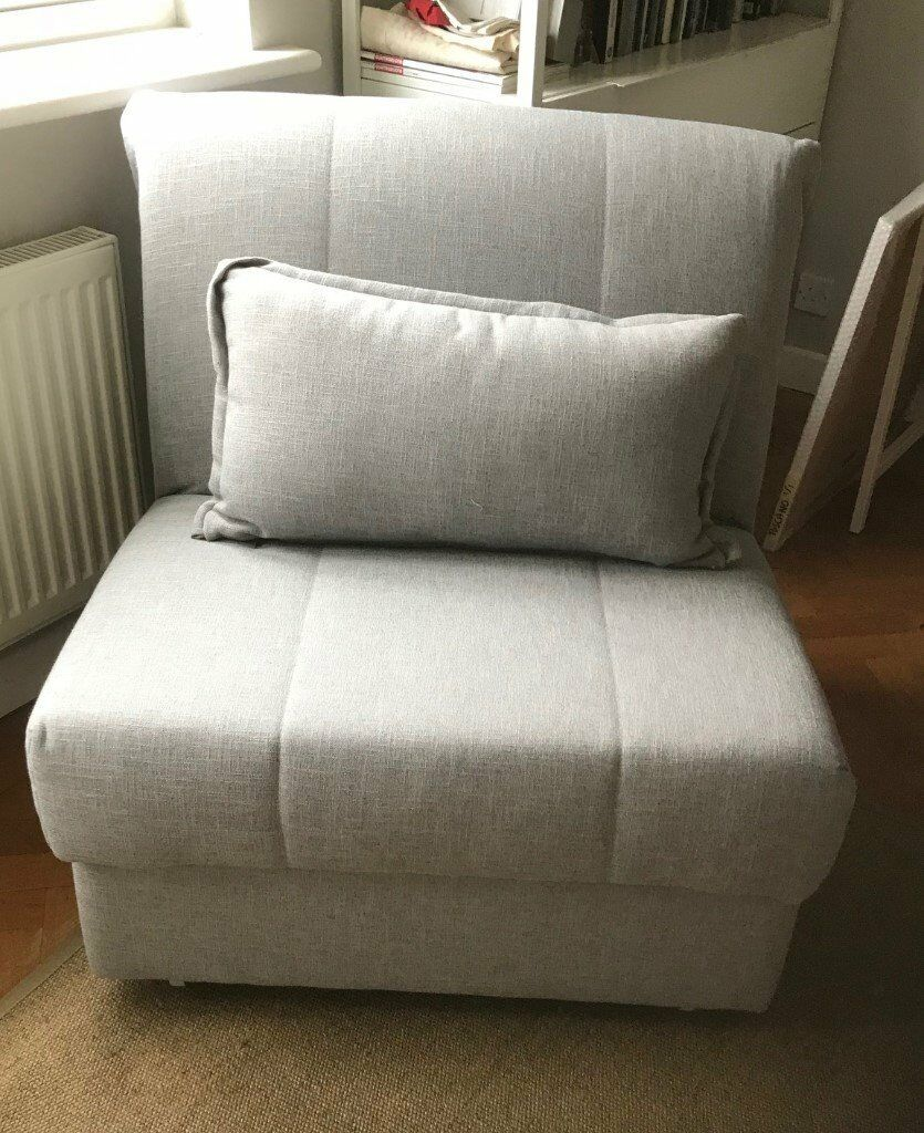 Excellent Chiswick Willow And Hall Appley Sofa Bed Chair Nearly New Grey Linen In Richmond London Gumtree Caraccident5 Cool Chair Designs And Ideas Caraccident5Info