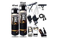 Never Used Onex Punch Bag and Kit
