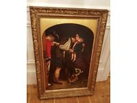 19th century oil painting in original frame, signed by listed artist