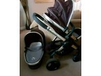 icandy peach travel system carrycot also available maxi cosi pebble