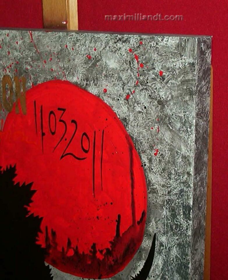 11.03.2011 -Acryl Gemälde auf Leinwand by Maximiliandt mdt-Studio in Warendorf