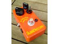 Subdecay Liquid Sunshine v1 Overdrive pedal (wampler, keeley, JHS, analogman)