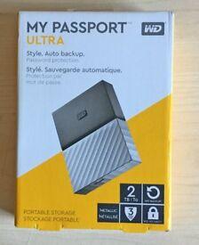 WD 2tb My Passport Ultra External Drive - Brand New unopened.