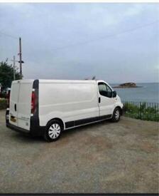Vauxhall Vivaro white panel van