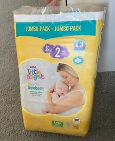 Asda Little angels nappy size 2 (New)