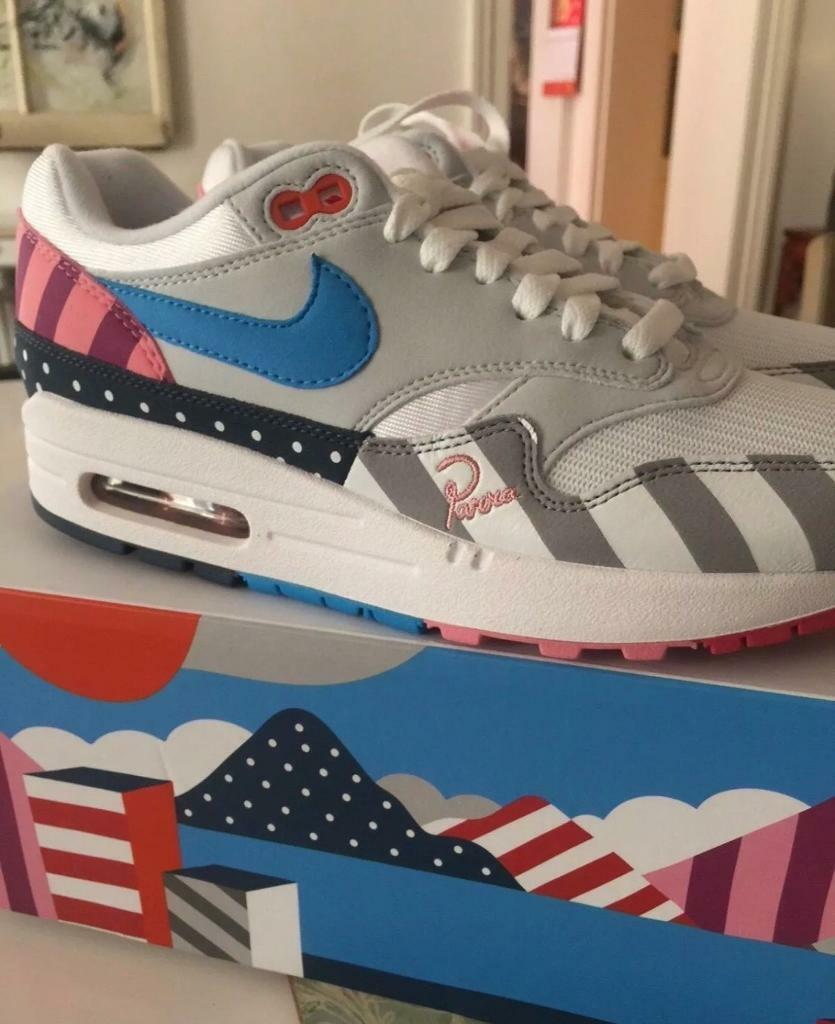 new arrival b802d 67ca6 ... wholesale parra x nike air max 1 white multi 375e9 c3f35