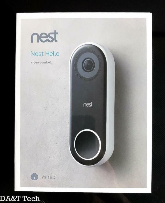 Nest Hello Smart Wi-Fi Video Doorbell NC5100US