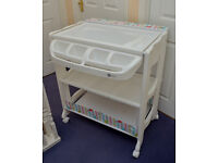 Immaculate MyChild Baby Nappy Changing Station (inc bath) Condition (used once!)