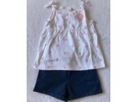 BNWT Next Baby Girl Summer Outfit 18 - 24 Months