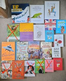Variety of New books 25p each