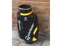 Golf bag. (LEATHER)