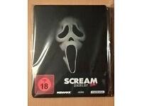 Scream 1-4 Quadrilogy (Blu Ray Steelbook German Import) £40 o.n.o
