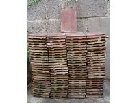 Quantity of 'Rougemont' roof tiles