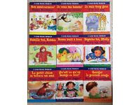 Children learning French, short stories, colourful books - A Set of 10