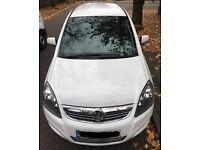 Vauxhall Zafira 1.6 LPG/Petrol 2013