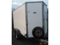 Ifor Williams BV 105 Box Trailer 7ft High Internal Combination Rear Doors