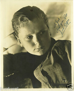 JACKIE-COOPER-Signed-Photograph-Film-Star-Actor