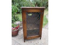 WEBBER OF CROYDON OAK dark wood (like Old Charm) cabinet