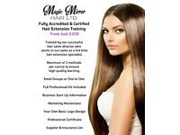 Earn up to 3k per week doing Hair Extensions