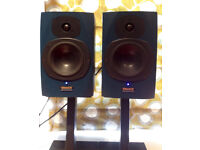 Tannoy Reveal Active Powered Monitor Speakers (Blue)