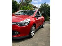 Red Renault Clio 0.9 TCE 90 ECO Dynamique MediaNav Energy 5dr