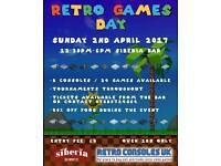 Retro video games day