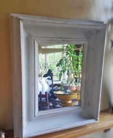 British Hand Made Antique Shabby Chic Heavy Quality Mirror Antique Frame & Glass