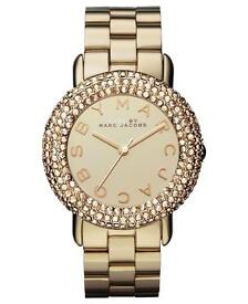 Marc Jacobs gold ladies watch