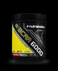 NUTRABOLICS M | BCAA 6000 Micronized Branched Chain Amino Acids (30 Servings, 240 grams)