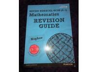 Gcse Pearson maths revision guide 9-1