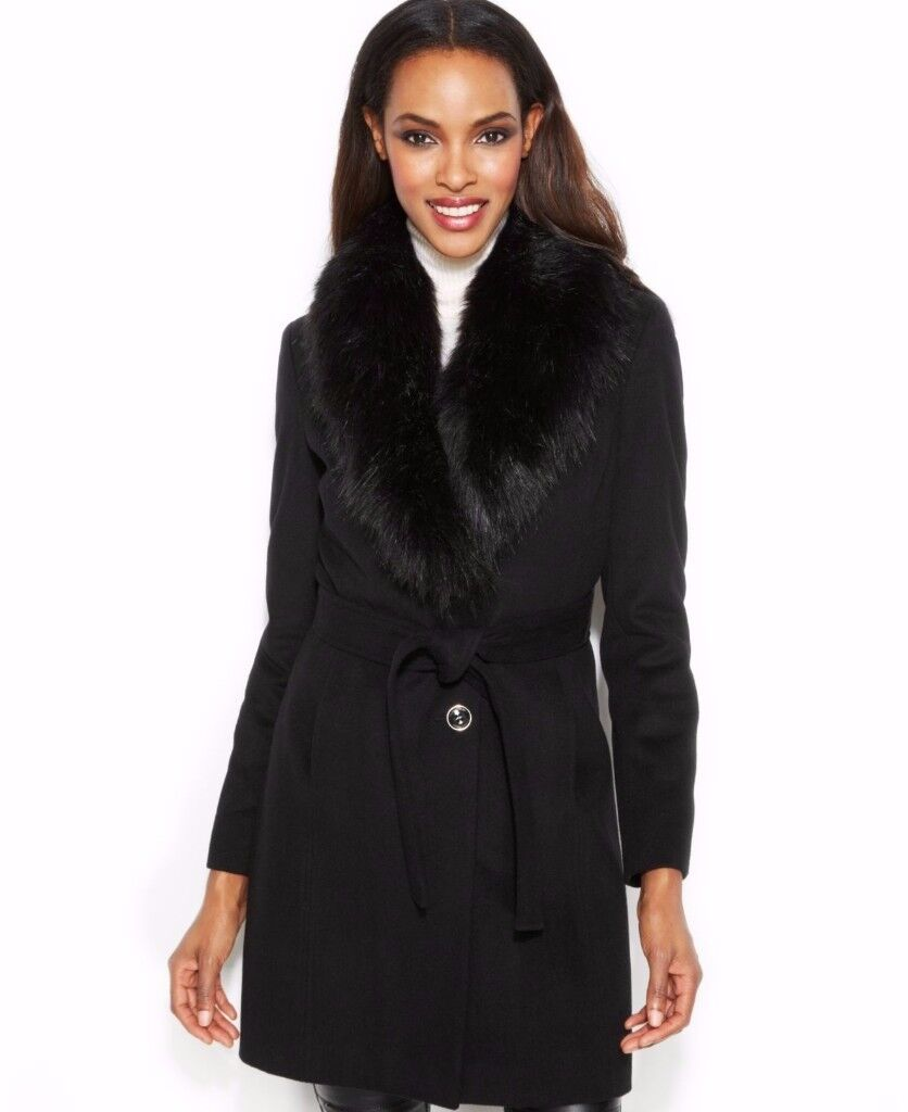 Black Coat Size 16