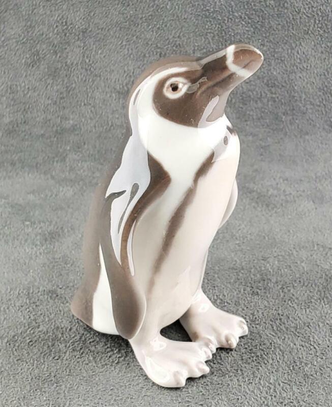 Vintage Penguin Figurine B&G Bing Grondahl Denmark