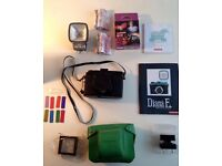 Lomography Diana F+ Black Jack with full pack £150