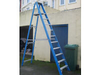 Step ladder Fibreglass large industrial heavy duty