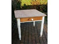 Victorian Pine Scrub Top kitchen - Dining Table - Antique - Vintage