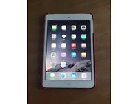 Apple Ipad mini 16 gb white wifi and 3g cellular excellent condition unlocked