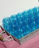 Blue Mason Jars * Calgary Party And Wedding Rentals