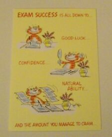 Exam Success Cards