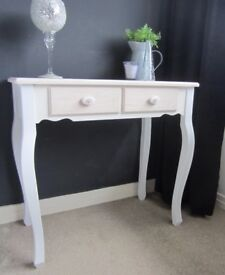 Cream shabby chic style Dressing Table Brand New