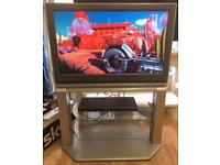 """32"""" Toshiba LCD Freeview TV complete with full stand and brand new remote control."""