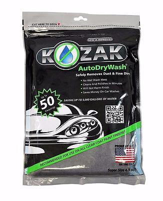 Kozak Cloth Super Size 4.5 sq ft Auto Dry Wash Motorcycles Car Wash Detailing