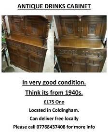 Antique Drinks Cabinet