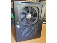 MINI ITX INTEL I5 4690K GTX 1060 8GB RAM CORSAIR HX 750W MODULAR PSU 120GB SSD & NEW WD 1TB HDD