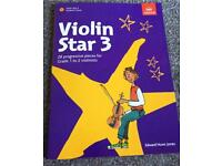 ABRSM violin star 3 student book (in good condition)