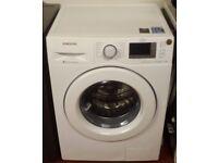 Samsung 9kg eco bubble washing machine in white