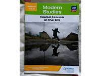 Modern studies NAT 5 social uk issue book