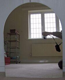 Mirror - arched top